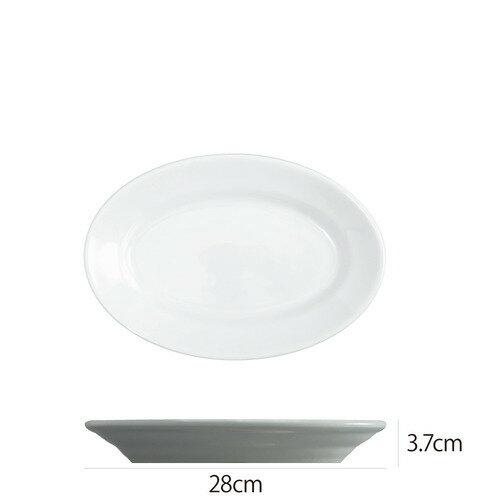 Saturniaのイタリア製食器 [サタルニア] チボリ オーバルプレート※28cm【5枚セット】