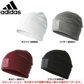 adidas(アディダス)73ロゴウーリー(DKS29)(スポーツ/トレーニング/防寒/ニット帽/帽子/男女兼用/ユニセックス)
