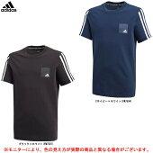 adidas(アディダス)DMHロゴ半袖Tシャツ(GVA45)(スポーツ/トレーニング/カジュアル/半袖/シャツ/ウェア/子供用/キッズ/ジュニア)