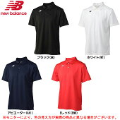 newbalance(ニューバランス)ベーシックショートスリーブポロシャツ(JMTT6141)(テニス/スポーツ/半袖/吸汗速乾/ランニング/男性用/メンズ)