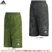 adidas(アディダス)BDAジャージハーフパンツ(GSV11)(スポーツ/トレーニング/カジュアル/パンツ/ウェア/短パン/半ズボン/子供用/キッズ/ジュニア)