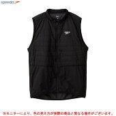 SPEEDO(スピード)ELITEHYBDBEST(SA01954)(スポーツ/トレーニング/フィットネス/ランニング/ウェア/ベスト/ジャケット/中綿/男性用/メンズ)