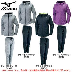 MIZUNO(ミズノ)テックシールドジャケット パンツ 上下セット(32MC7860/32MD7860)(トレーニング/ウインドブレーカー/ジャケット/パンツ/女性用/レディース)