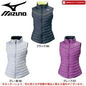 MIZUNO(ミズノ)テックフィルベスト(32ME7851)(BREATHTHERMO/スポーツ/トレーニング/カジュアル/アウター/防寒/女性用/レディース)