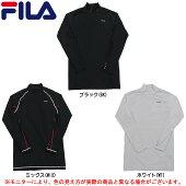 FILA(フィラ)長袖ハイネックコンプレッションシャツ(416118)(スポーツ/トレーニング/ランニング/フィットネス/長袖/UVカット/男性用/メンズ)