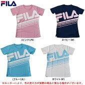 FILA(フィラ)レディース半袖Tシャツ(417902)(スポーツ/トレーニング/ランニング/フィットネス/女性用/レディース)