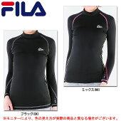 FILA(フィラ)W's長袖ハイネック裏起毛(446410)(スポーツ/トレーニング/インナー/着圧/コンプレッション/女性用/レディース)