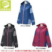 adidas(アディダス)HMマテリアルミックスジップパーカー(BIN76)(adidasNEO/ネオ/スポーツ/トレーニング/カジュアル/ジャケット/長袖/女性用/レディース)