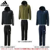 adidas(アディダス)24/7中綿ウインドブレーカー上下セット(BV994/BV996)(スポーツ/トレーニング/カジュアル/ジャケット/パンツ/防風/中綿/裏起毛/男性用/メンズ)