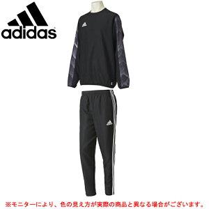 adidas(アディダス)RENGI ライトウーブンピステトップ パンツ 上下セット(DLJ85/NBY91)(サッカー/フットサル/トレーニング/ジャケット/裏地無し/1枚もの/男性用/メンズ)