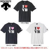 DESCENTE(デサント)半袖プラクティスシャツ(DVA5640)(バレー/バレーボール/ウェア/子供用/ジュニア/男女兼用/ユニセックス)