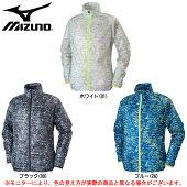 MIZUNO(ミズノ)ウィンドブレーカーシャツ(J2MC6003)(スポーツ/トレーニング/ジャケット/男性用/メンズ)