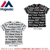 MAJESTIC(マジェスティック)ニューヨーク・ヤンキース半袖Tシャツ(MM01NYK0237)(野球/ベースボール/MLB/メジャーリーグ/スポーツ/カジュアル/男性用/メンズ)