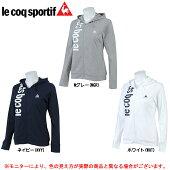 lecoq(ルコック)長袖シャツジャケット(QB515263)(ランニング/フィットネス/トレーニング/カジュアル/女性用/レディース)