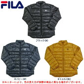 FILA(フィラ)メンズファイバーダウンジャケット(447359)(スポーツ/防寒/アウター/ジャケット/カジュアル/男性用/メンズ)