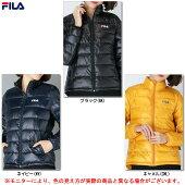 FILA(フィラ)レディースファイバーダウンジャケット(447682)(スポーツ/防寒/アウター/ジャケット/カジュアル/女性用/レディース)