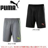 PUMA(プーマ)EVOTRGテックショーツ(655506)(サッカー/フットボール/フットサル/吸水速乾/ハーフパンツ/男性用/メンズ)