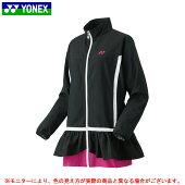 YONEX(ヨネックス)裏地付ウィンドウォーマーチュニック(78039)(テニス/バドミントン/スポーツ/ウインドブレーカー/ジャケット/シャツ/防寒/女性用/レディース)