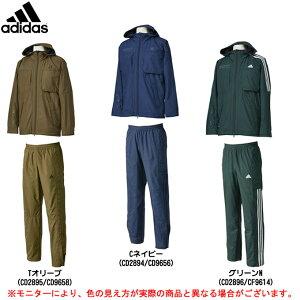 adidas(アディダス)24/7 ウインドブレーカー 上下セット(DUQ96/DUQ98)(スポーツ/トレーニング/ジャケット/パンツ/防風/保温/裏起毛/男性用/メンズ)