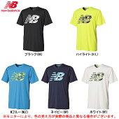 newbalance(ニューバランス)NBKAKUSEIBIGLOGOプラクティスシャツ(JMTF8312)(サッカー/スポーツ/半袖/吸汗速乾/ランニング/男性用/メンズ)