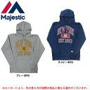 MAJESTIC(マジェスティック)ニューヨーク・ヤンキース ビンテージ パーカー(MM06NYK0116)(野球/ベースボール/MLB/メジャーリーグ/スポーツ/カジュアル/男性用/メンズ)