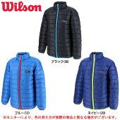 Wilson(ウィルソン)ジュニア中綿ジャケット(WX5741)(スポーツ/カジュアル/アウター/ジャンバー/子供用/ジュニア/キッズ)