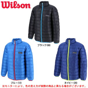 Wilson(ウィルソン) ジュニア 中綿ジャケット(WX5741)(スポーツ/カジュアル/アウター/ジャンバー/子供用/ジュニア/キッズ)