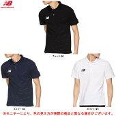 newbalance(ニューバランス)ムーブドコットンポロシャツ(JMTF9328)(スポーツ/サッカー/プラクティス/練習用/半袖/吸汗速乾/ランニング/男性用/メンズ)