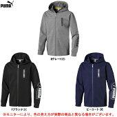PUMA(プーマ)NU-TILITYフルジップフーディー(580987)(スポーツ/トレーニング/カジュアル/ジップアップ/パーカー/フードあり/小学生/子供用/ジュニア/キッズ)