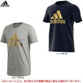 adidas(アディダス)8ビットグラフィックフォイルTシャツ(GLZ15)(スポーツ/フィットネス/トレーニング/ランニング/ジョギング/カジュアル/ウェア/半袖/男性用/メンズ)