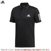 adidas(アディダス)CLUB3STRポロシャツ(FRW69)(スポーツ/テニス/バドミントン/トレーニング/カジュアル/半袖/男性用/メンズ)
