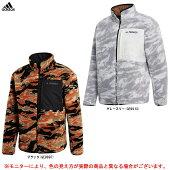 adidas(アディダス)IZXPLRSHERPAFシェルパフリースジャケット(IZG36)(スポーツ/トレーニング/カジュアル/上着/ウェア/裏起毛/リバーシブル/防寒/男性用/メンズ)