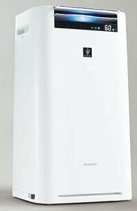【送料無料】【あす楽可】シャープ加湿空気清浄機KI-GS70-Wホワイト系高濃度プラズマクラスター25000搭載空気清浄〜31畳スリムボディ
