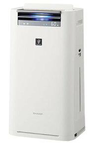 【送料無料】【あす楽可】シャープ加湿空気清浄機KI-HS50-Wホワイト系高濃度プラズマクラスター25000搭載空気清浄〜23畳高性能&スリムボディ