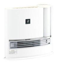 【送料無料】【あす楽可】シャープ加湿セラミックファンヒーターHX-H120-Wホワイト系プラズマクラスター7000搭載タンク容量2.7L適用床面積暖房約8畳加湿約14畳