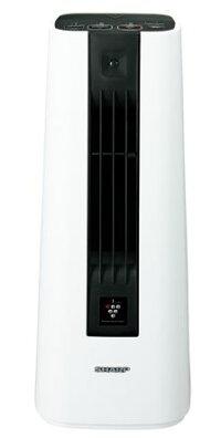 【送料無料】【あす楽可】シャープセラミックファンヒーターHX-HS1-Wホワイト系プラズマクラスター7000搭載人感センサー付軽量コンパクト暖房適用床面積約8畳まで