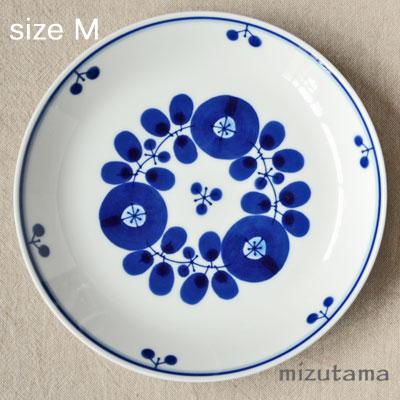 【エントリーでポイント最大14倍!】白山陶器 ブルーム プレート M ブーケ 取り皿【波佐見焼】【北欧】