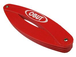 赤色の競技用のサークルです
