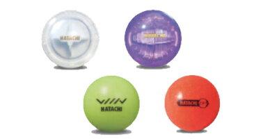 ハタチ製の飛び方が違うボールの4種類セットになります