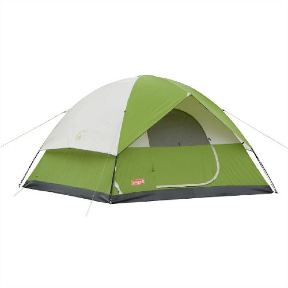 Coleman コールマン サンドーム 2人用 ドーム テント グリーン Sundome 2-Person Tent Green