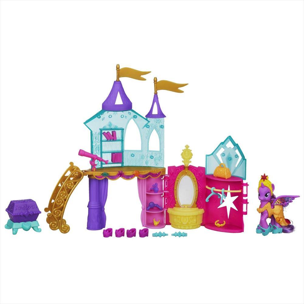 ままごと・ごっこ遊びトイ, その他  My Little Pony Crystal Princess Palace Playset