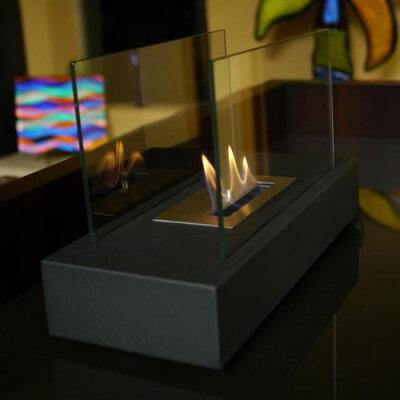 会話も弾むお洒落な卓上暖房器具♪Nu-Flame卓上暖房【Incendio】Model#:NF-T1INOエタノール燃料【エタノール暖炉】【ストーブ・ヒーター】【ギフト贈り物】【05P01Nov14】