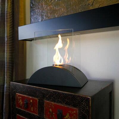 会話も弾むお洒落な卓上暖房器具♪Nu-Flame卓上暖房【Estro】Model#:NF-T2ESOエタノール燃料【エタノール暖炉】【ストーブ・ヒーター】【ギフト贈り物】【05P01Nov14】