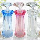 3本セット Shine シャンプー ボトル ディスペンサー おしゃれ 姫系 かわいい日本製 詰め替え バスディスペンサー クリア ピンク ブルー…