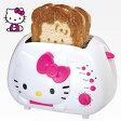 ハローキティ ポップアップトースター Hello Kitty 2-Slice Wide slot toaster 型番:KT5211 【 パン 朝食 かわいい スロット プレゼント 】 送料無料