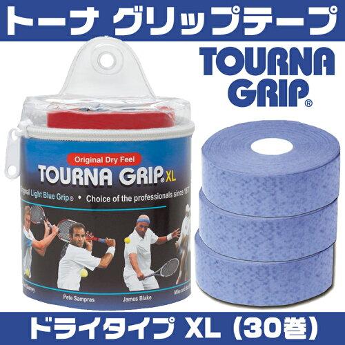 夏の汗対策に超オススメ!! TOURNA トーナ グリップテープ ドライタイプ XL 30巻 US-TG-1-30XL 【 ...