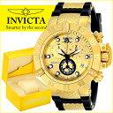 インビクタ Invicta インヴィクタ 男性用 腕時計 メンズ ウォッチ サブアクア Subaqua ゴールド 15802 送料無料