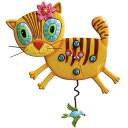 アレン デザイン 振り子時計 Allen Designs Kimi Kitty Cat Clock