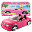 バービー Barbie グラム コンバーチブル Glam Convertible 【 バービー ピンク ラメ キラキラ 車 オープンカー シートベルト 】