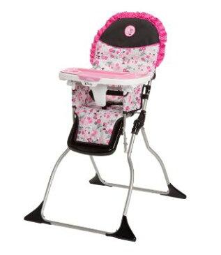 ディズニー Disney シンプル折りたたみ ハイチェアー ミニー ガーデンディライト デザイン イス いす 椅子 いす 椅子